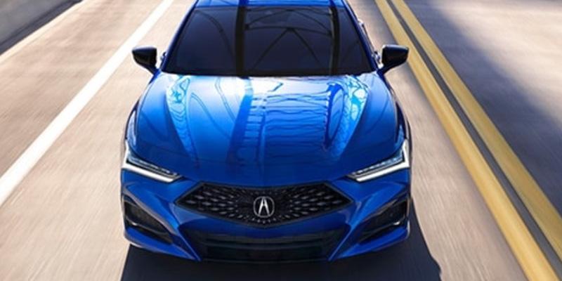 2021 Acura TLX technology