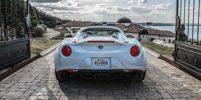 New Alfa Romeo 4C Spider for Sale Charleston SC