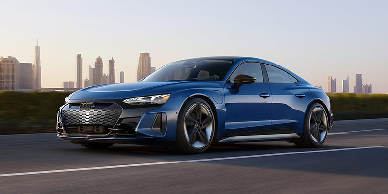 2022 Audi e-tron GT performance