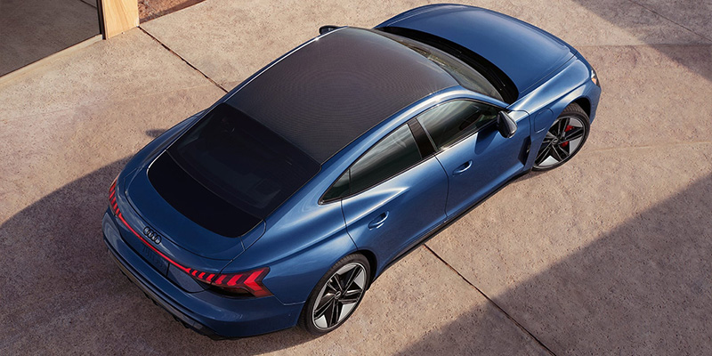2022 Audi e-tron GT technology