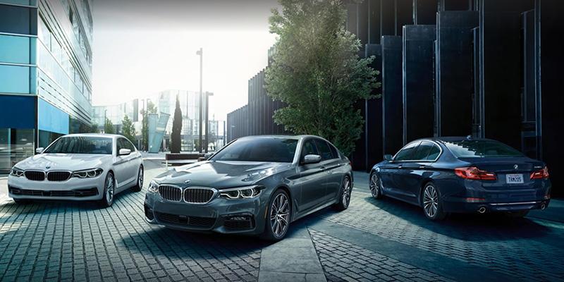 2020 BMW 5 Series technology