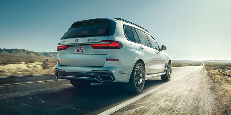 2020 BMW X7 technology