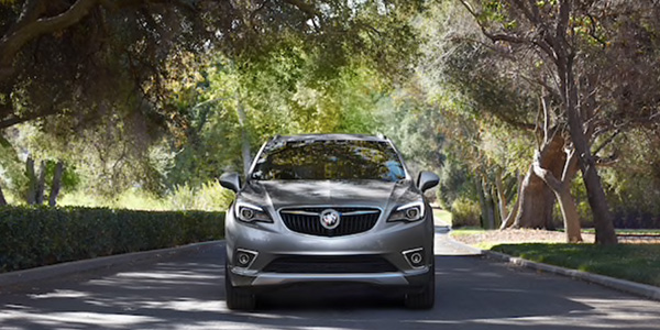 2020 Buick Envision technology
