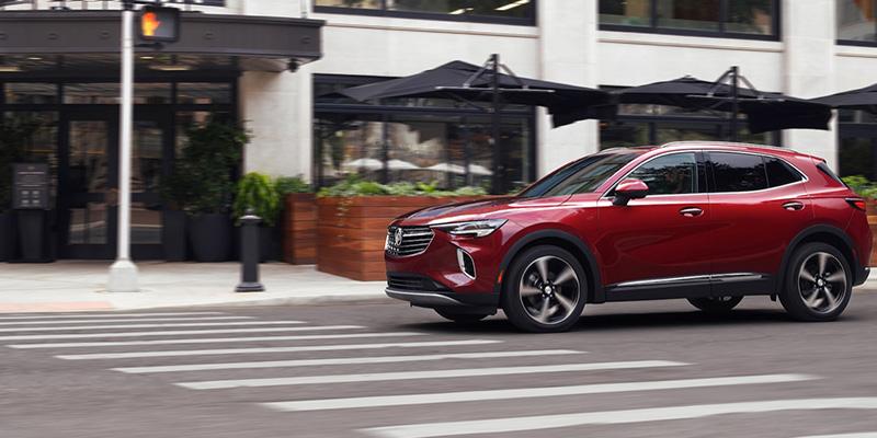 2021 Buick Envision design