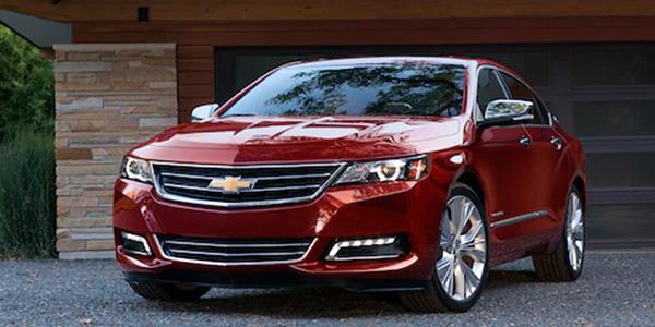 2020 Chevrolet Impala design