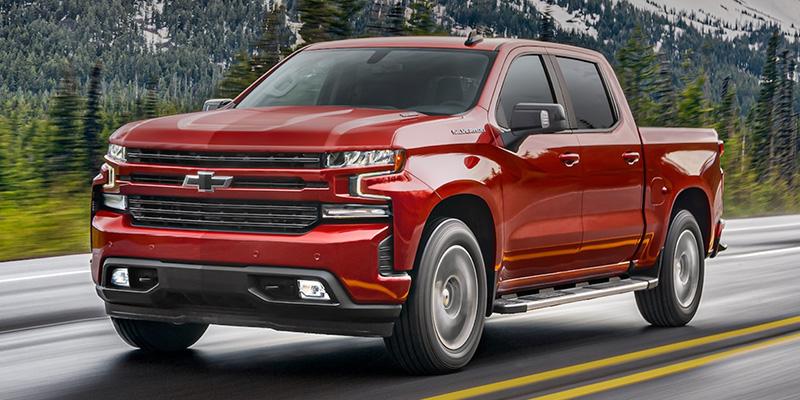 2021 Chevrolet Silverado 1500 technology