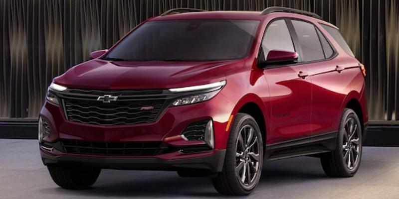 2022 Chevrolet Equinox design