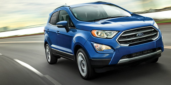 New Ford EcoSport for Sale Williamston NC