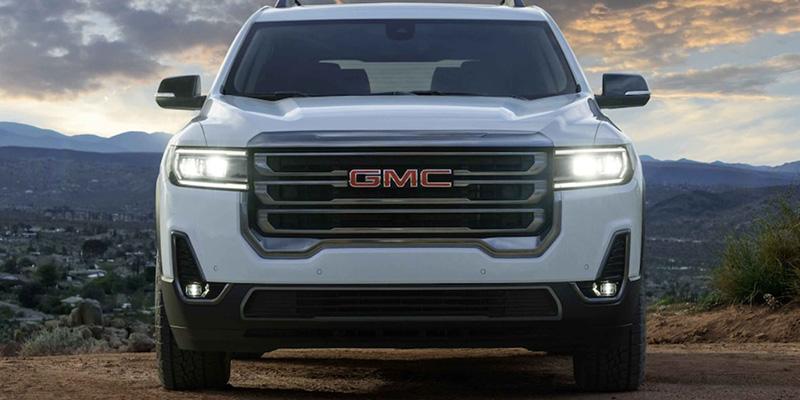 2021 GMC Acadia design