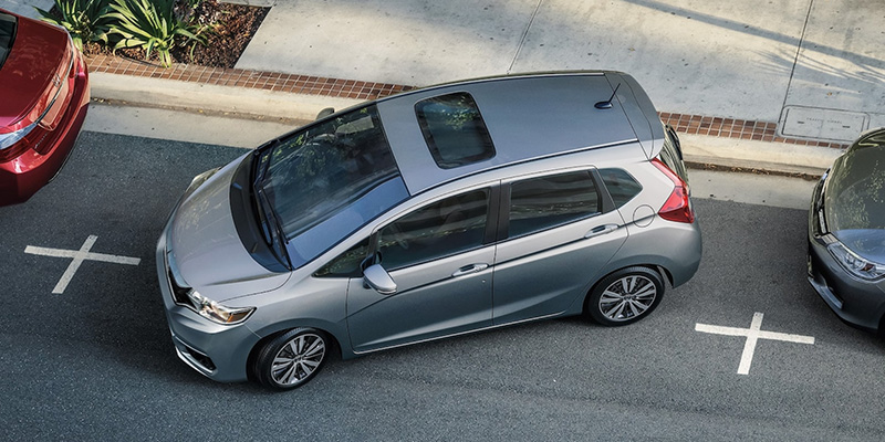 2020 Honda Fit technology