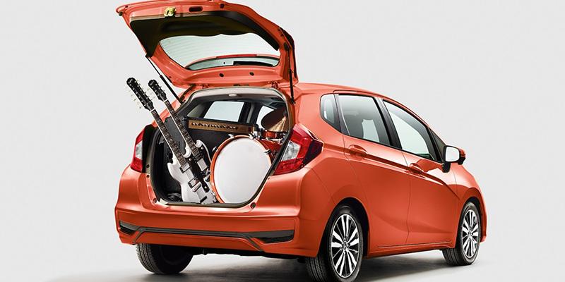 2020 Honda Fit technology
