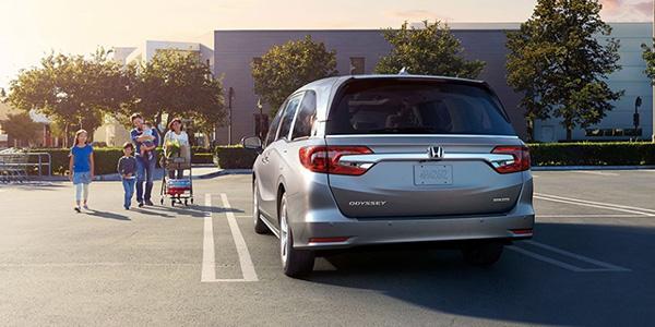 2020 Honda Odyssey technology