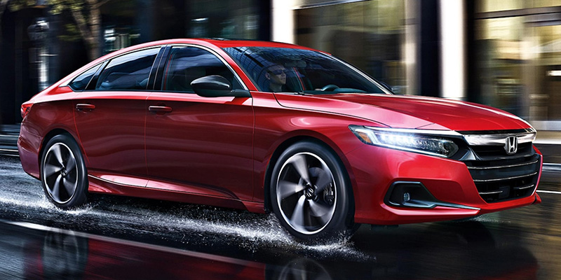 2021 Honda Accord design
