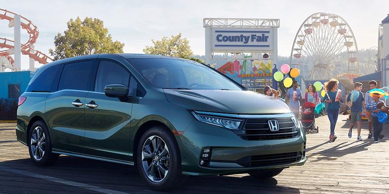 2021 Honda Odyssey technology
