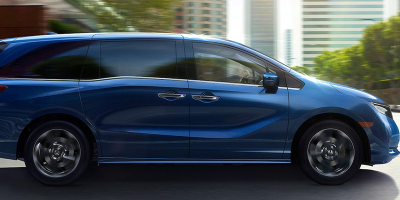 2021 Honda Odyssey design
