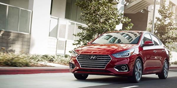 2020 Hyundai Accent technology