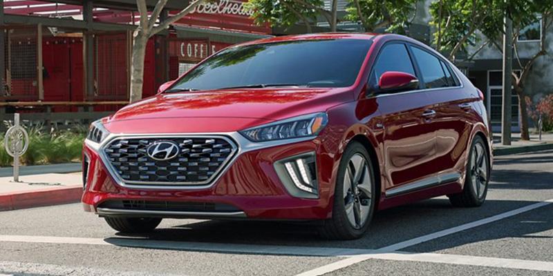 2020 Hyundai Ioniq Hybrid technology