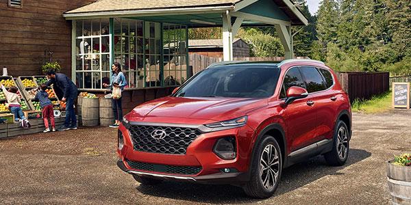 2020 Hyundai Santa Fe technology