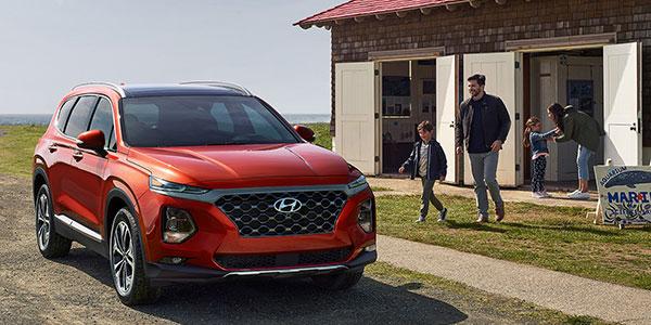 2020 Hyundai Santa Fe design
