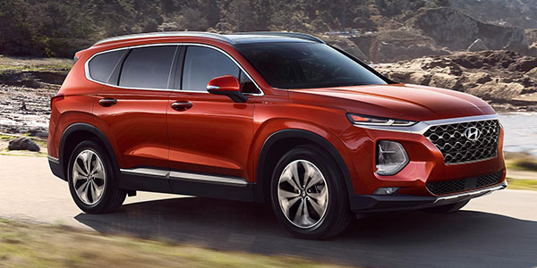 2020 Hyundai Santa Fe technology