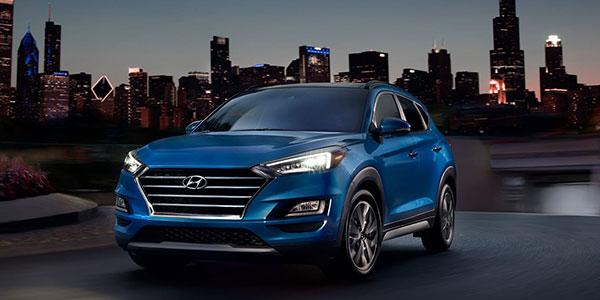 2020 Hyundai Tucson technology