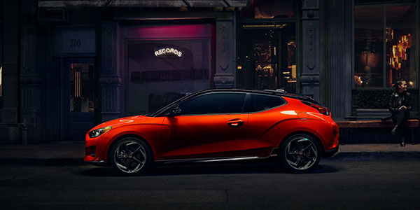 2020 Hyundai Veloster design