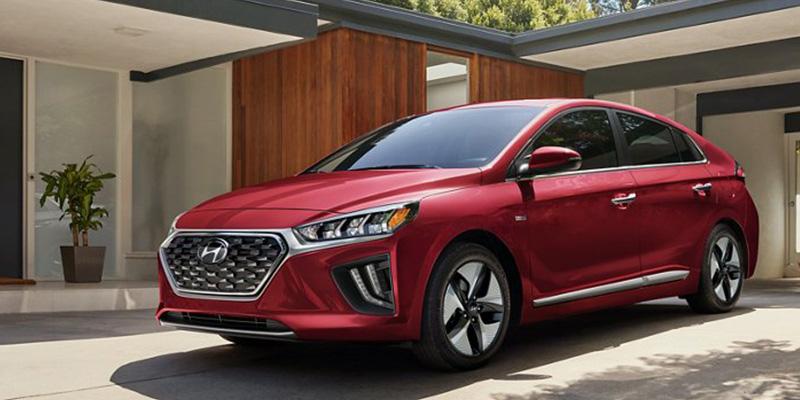 2021 Hyundai Ioniq Hybrid design