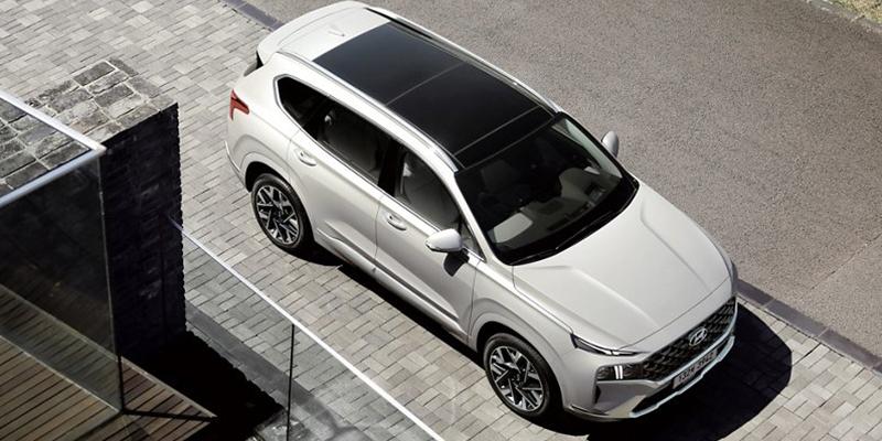 2021 Hyundai Santa Fe technology
