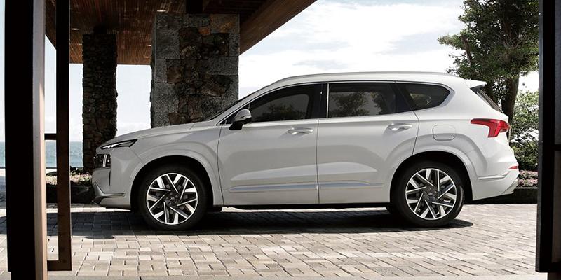 2021 Hyundai Santa Fe design