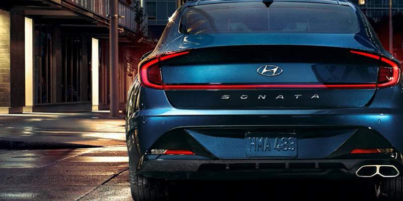 2021 Hyundai Sonata design