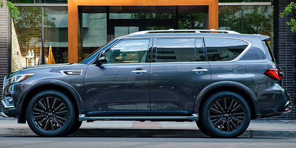 2020 INFINITI QX80 technology