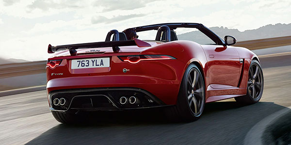 2020 Jaguar F-TYPE design