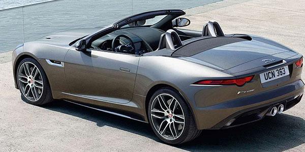 2020 Jaguar F-TYPE technology