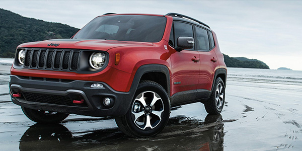 2020 Jeep Renegade design