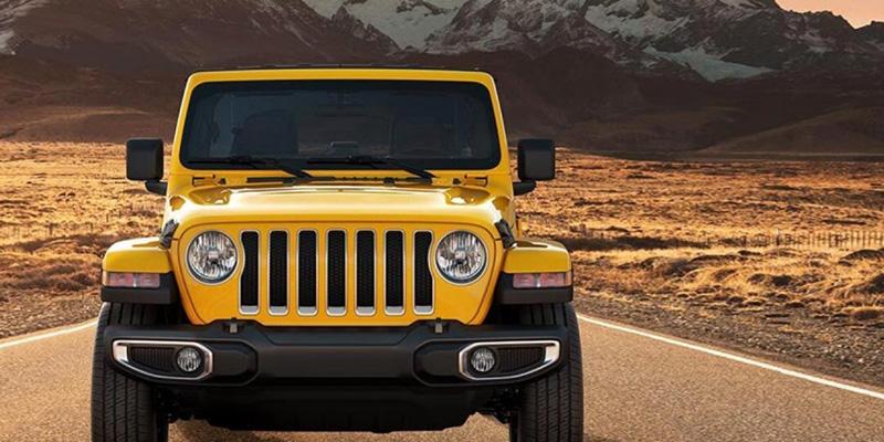 2021 Jeep Wrangler design