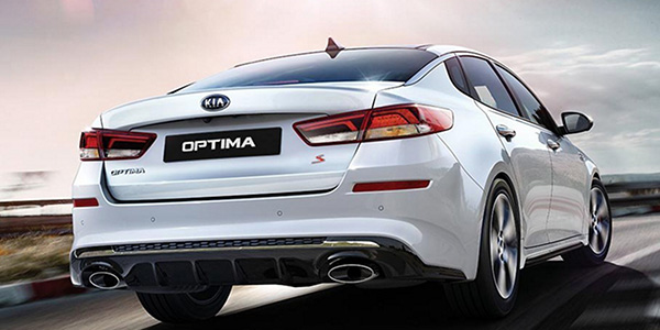 2020 Kia Optima technology