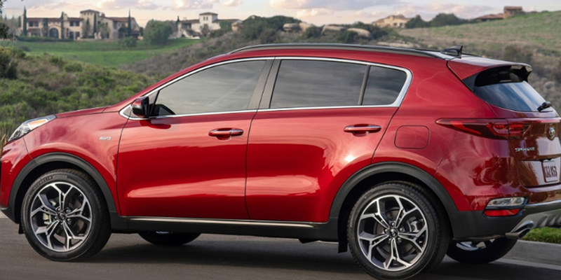 2021 Kia Sportage technology