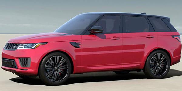2020 Land Rover Range Rover Sport technology