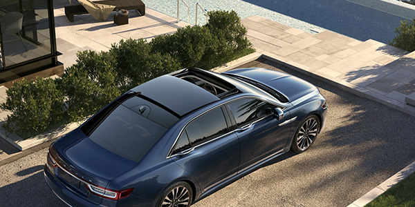 2020 Lincoln Continental technology