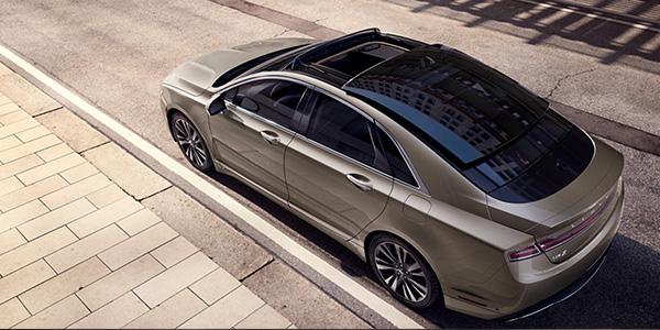 2020 Lincoln MKZ design