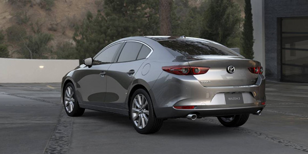2020 Mazda Mazda3 design
