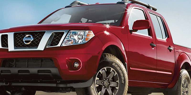 2020 Nissan Frontier technology