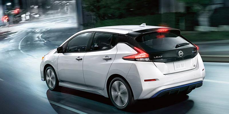2020 Nissan LEAF design