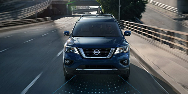 2020 Nissan Pathfinder performance