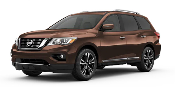2020 Nissan Pathfinder design