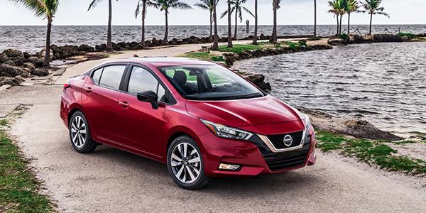 2020 Nissan Versa Sedan technology