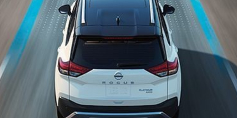 2021 Nissan Rogue design
