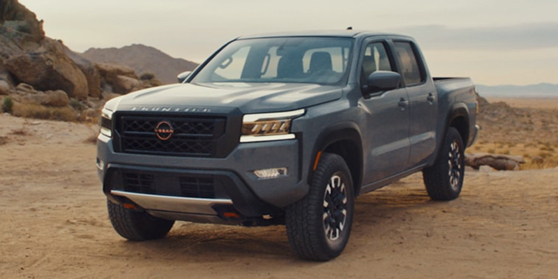 2022 Nissan Frontier technology