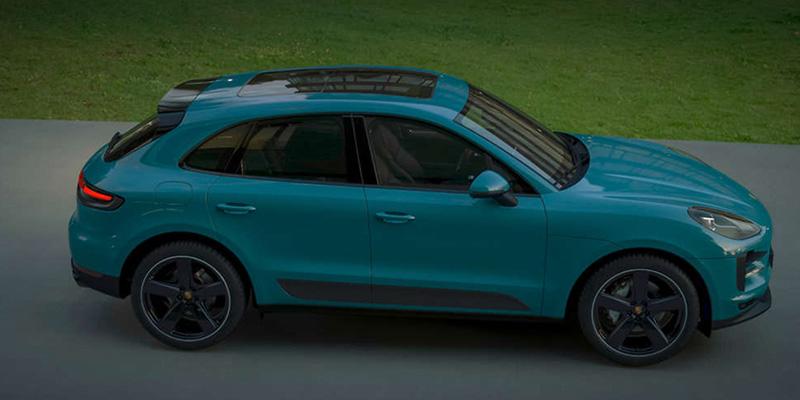 2021 Porsche Macan technology