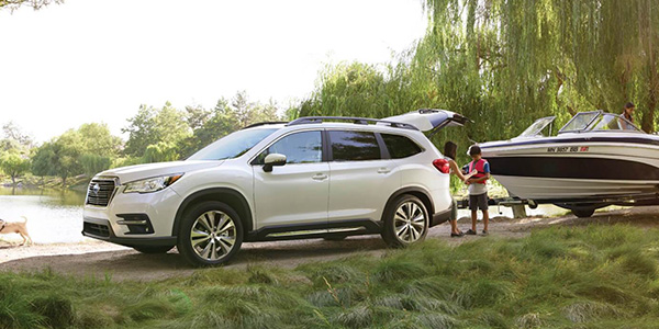 2020 Subaru Ascent design
